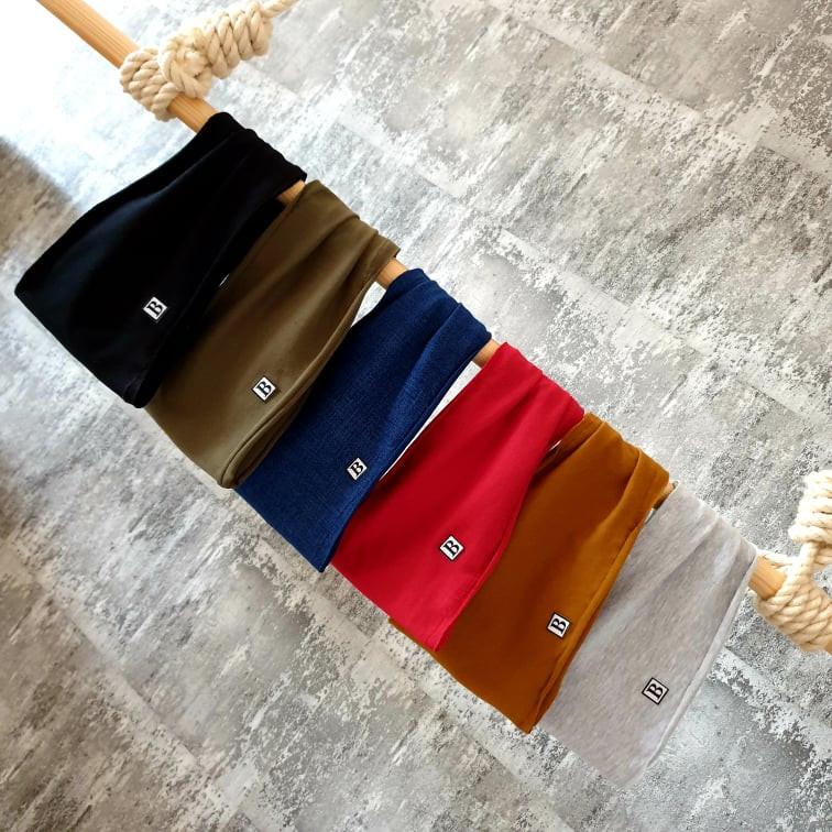 Dvojvrstvová čelenka - viac farieb