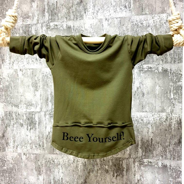 Nátelník khaki - Beee  Yourself