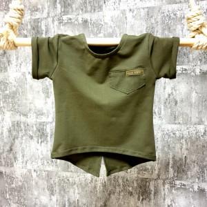 Tričko Beee Army - khaki