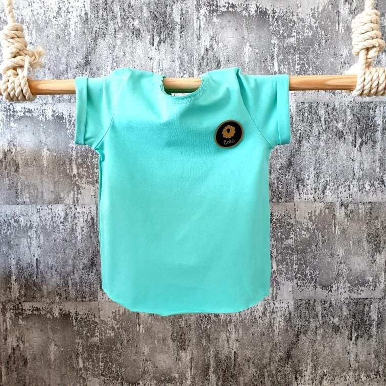 Úpletové tričko - mint